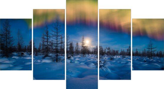 Set canvas 5 buc – Aurora